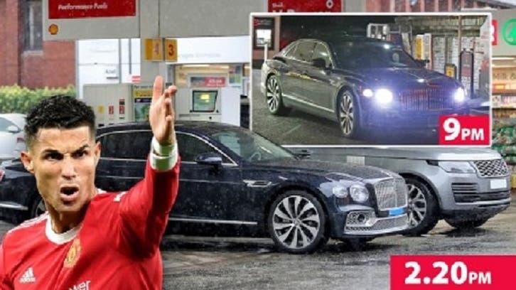 رونالڈو کا ڈرائیور 7 گھنٹے بعد بھی مشہور فٹبالر کی گاڑی میں پٹرول نہ ڈلوا سکا