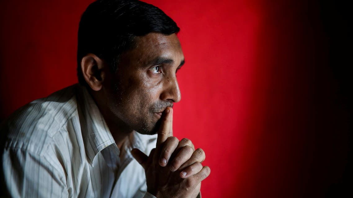 Mohib Ullah, a Rohingya Muslim leader from the Arakan Rohingya Society for Peace and Human Rights, poses for a potrait at his office in Kutupalong refugee camp in Ukhiya, Cox's Bazar, Bangladesh, April 19, 2018. Picture taken April 19, 2018. REUTERS/Mohammad Ponir Hossain