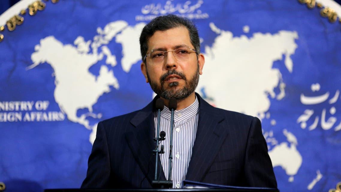 المتحدث باسم وزارة الخارجية الإيرانية سعيد خطيب زاده (أرشيفية- فرانس برس)