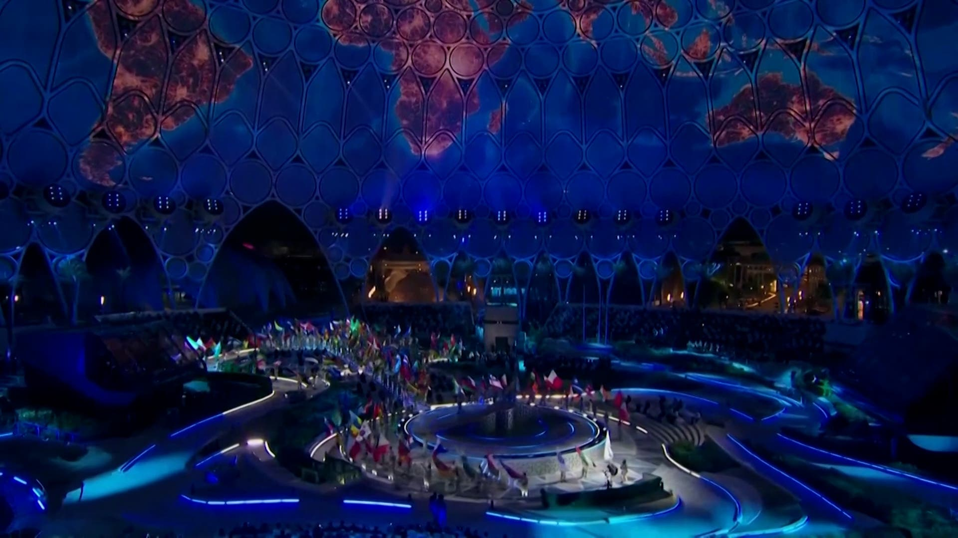 On the eve of Expo 2020 launch, UAE kicks off with a lavish ceremony