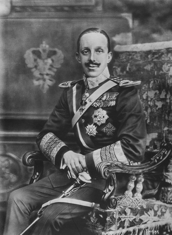 صورة للملك الإسباني ألفونسو الثالث عشر