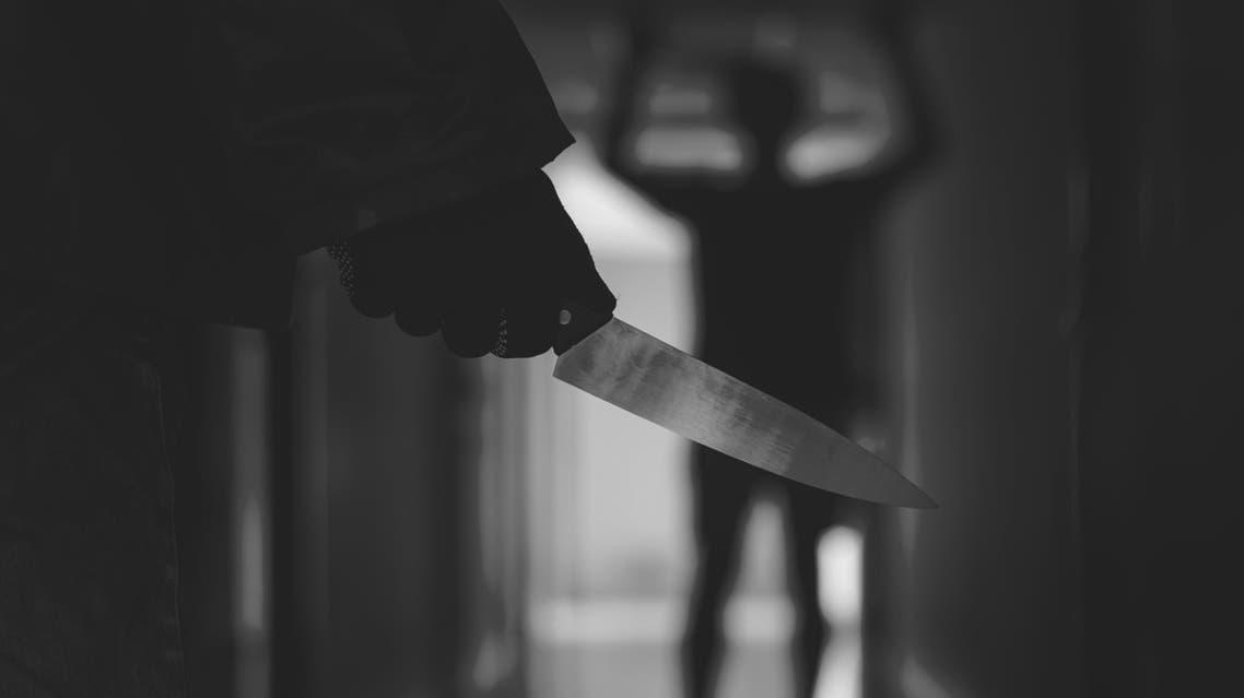 تعبيرية سكين قتل