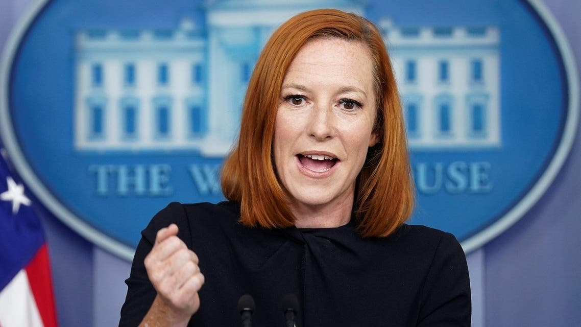 White House Press Secretary Jen Psaki speaks during a press briefing at the White House in Washington, US, September 30, 2021. (Reuters/Kevin Lamarque)