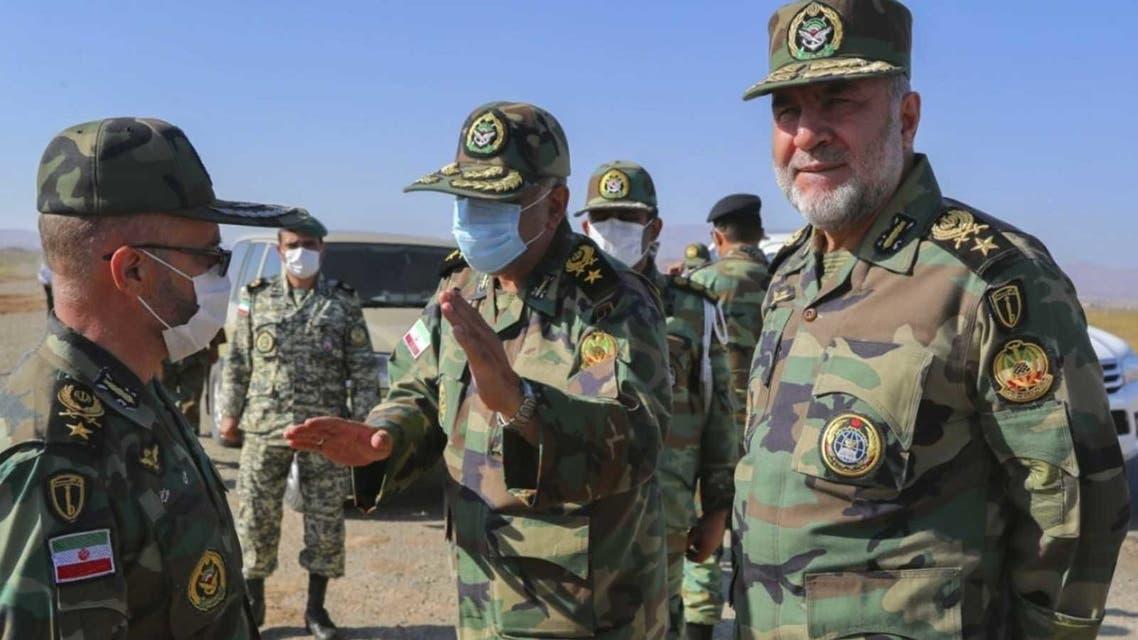 مقامات نظامی ایران در مرز آذربایجان