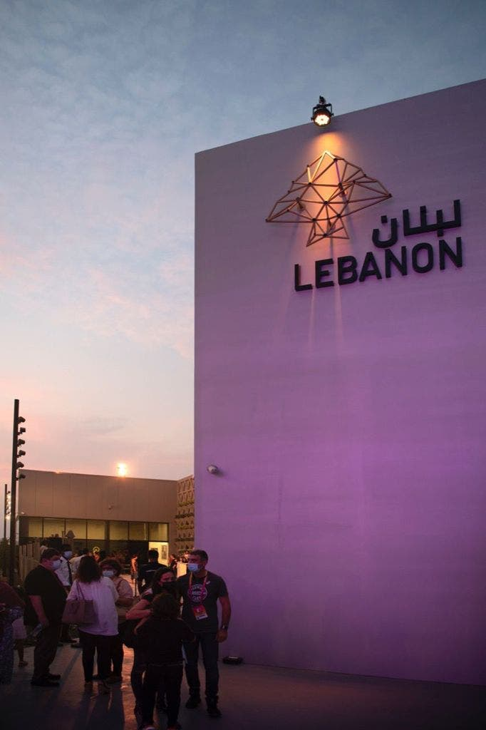 The Lebanon pavilion at Expo 2020 Dubai is organized by the Federation of Lebanese Chambers, commissioned by the Lebanese government, and in cooperation and coordination with the Ministry of Economy and Trade. (Supplied)