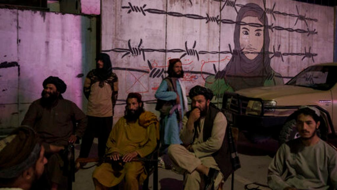 عناصر من طالبان (أ ب)