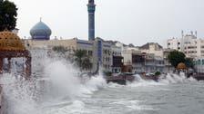 شاہین طوفان عُمان کے ساحل سے ٹکرا گیا ، شدید بارشوں کے خوف ناک مناظر