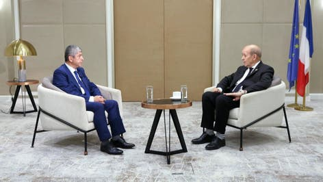 مقابلة خاصة مع وزير الخارجية الفرنسي جان إيف لودريان