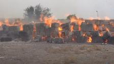 """بالهاون.. """"الحوثي"""" تقصف مجمعاً صناعياً في الحديدة"""