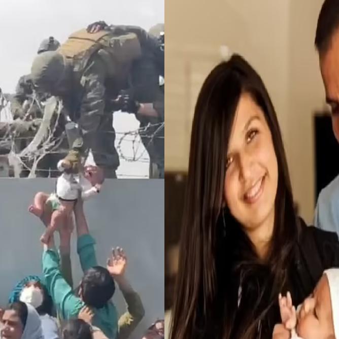 صورتها شغلت العالم.. والد طفلة مطار كابل يكشف تفاصيل مفاجئة