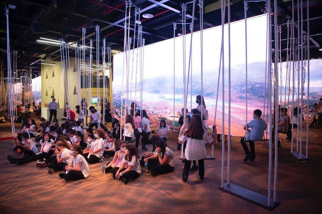 A performance by 50 Lebanese children residing in Dubai. (Supplied)