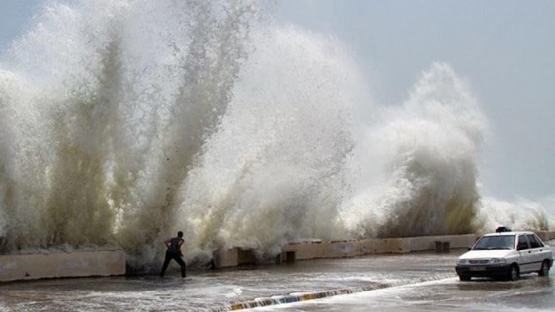 اعصار شاهين في إيران