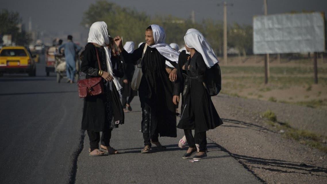 طالبات أفغانيات (فرانس برس)