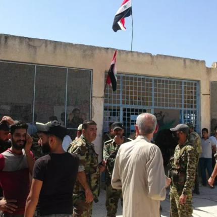 سوريا.. بدء عملية تسوية أوضاع مسلحين ومطلوبين بدرعا