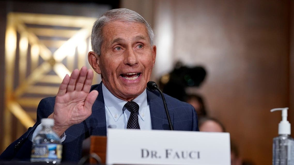 Top infectious disease expert Dr. Anthony Fauci responds to accusations by Sen. Rand Paul (R-KY) as he testifies before the Senate Health, Education, Labor, and Pensions Committee on Capitol hill in Washington, DC. (Reuters)