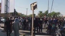 مظاهرة عمالية بشوارع مدينة السوس جنوب غرب إيران لليوم السادس