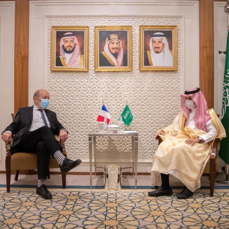 مباحثات سعودية فرنسية حول القضايا الإقليمية والدولية