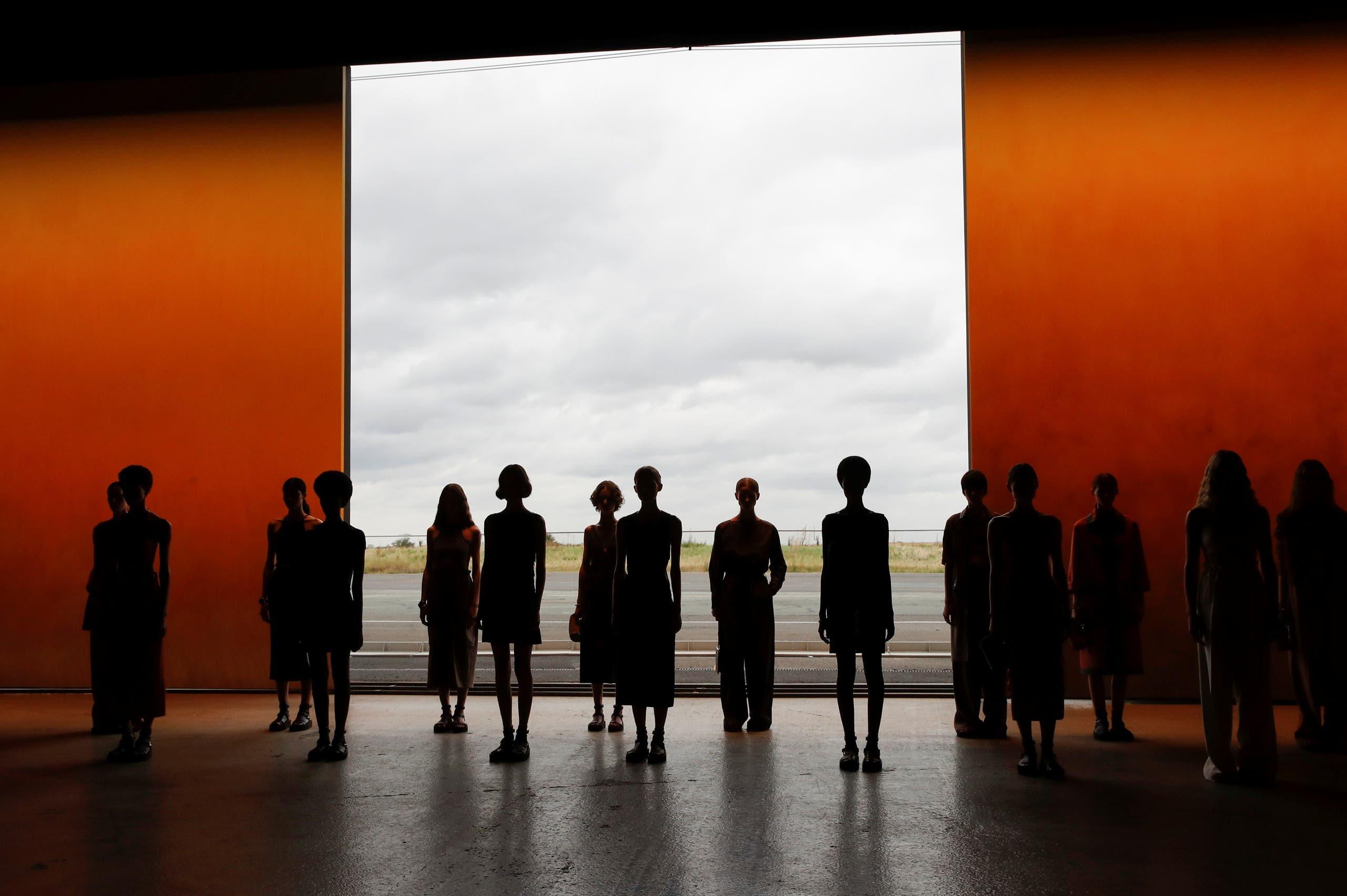 من عرض هيرميس الأخير في باريس