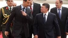 Jordan's King Abdullah receives first call from Assad since start of Syria war