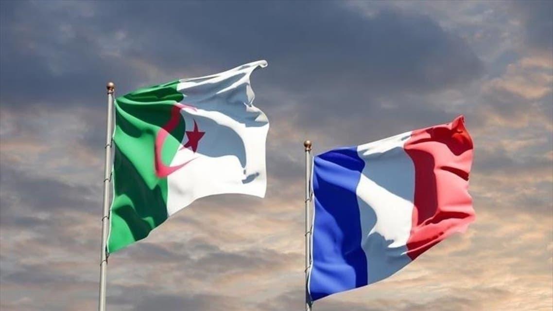 علم فرنسا والجزائر