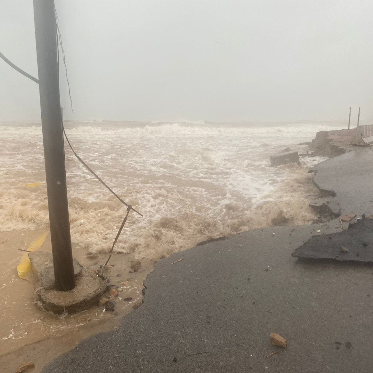 Child reported dead after disappearing during Oman's Shaheen storm
