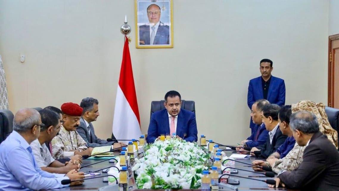 رئيس الحكومة اليمنية معين عبدالملك