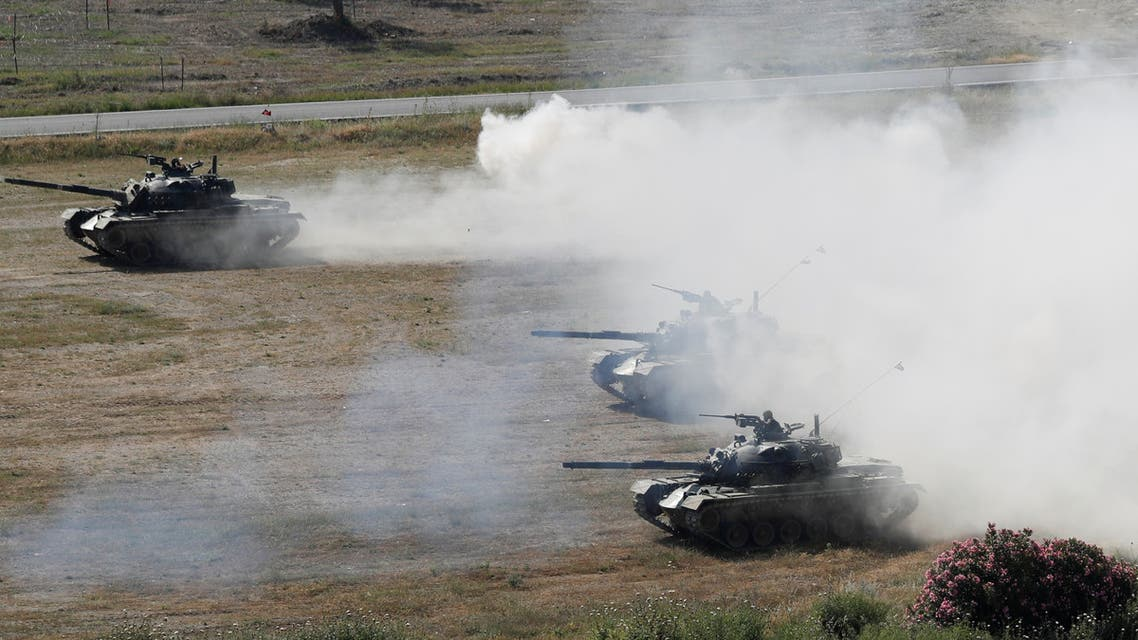Turkish troops take part in a live fire drill during the EFES-2018 Military Exercise near the Aegean port city of Izmir, Turkey May 10, 2018. (File photo: Reuters)