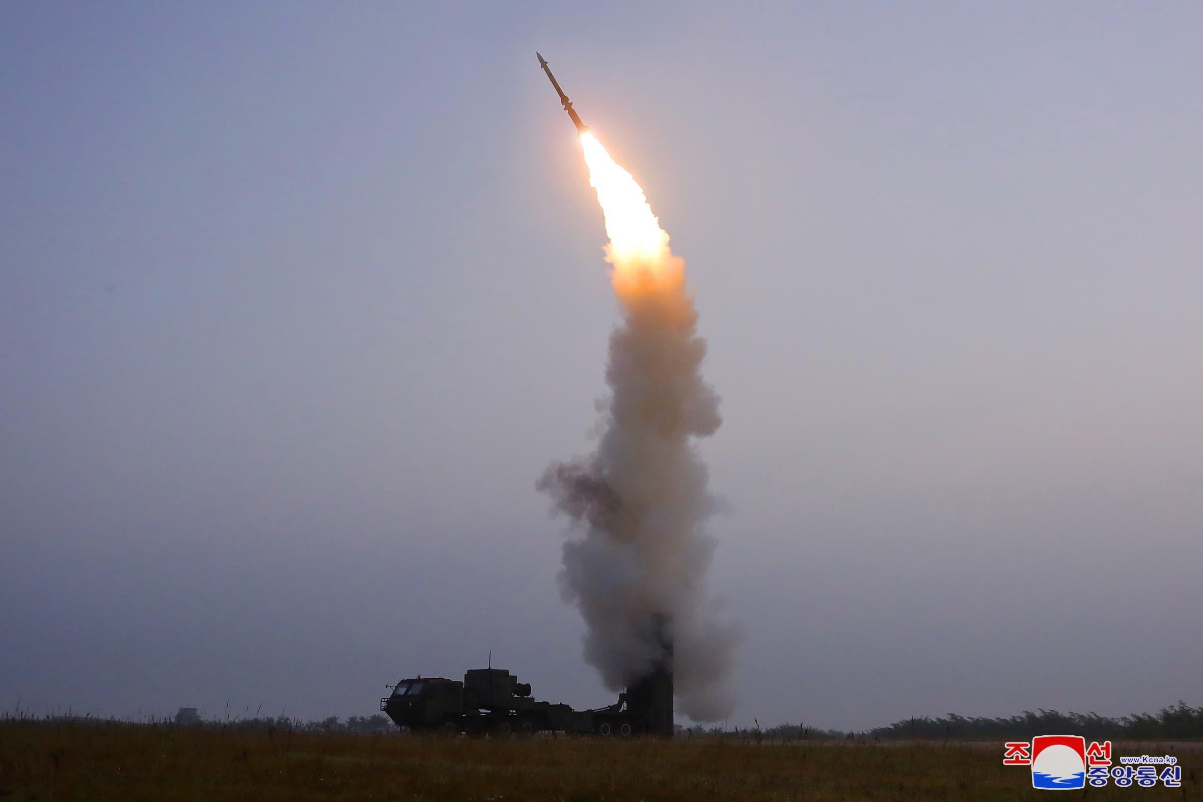 إطلاق بيونغ يانغ يوم 30 سبتمبر لصاروخ مضاد للطائرات
