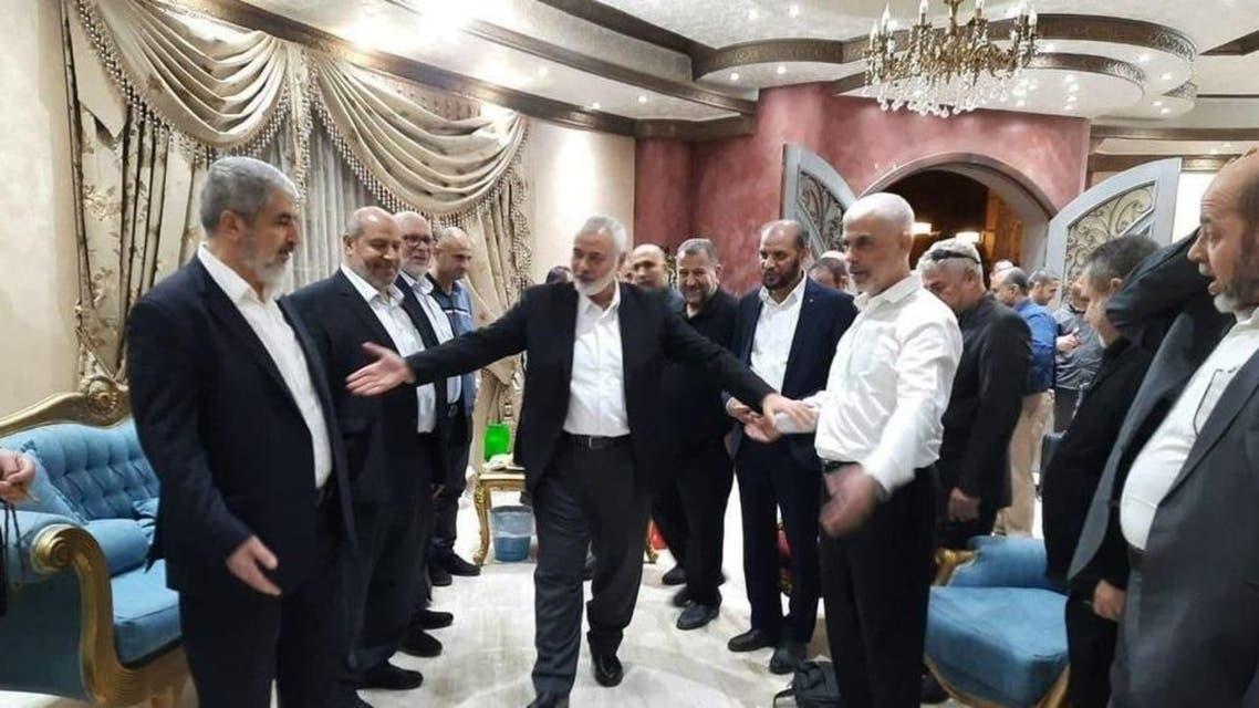قادة حماس في القاهرة