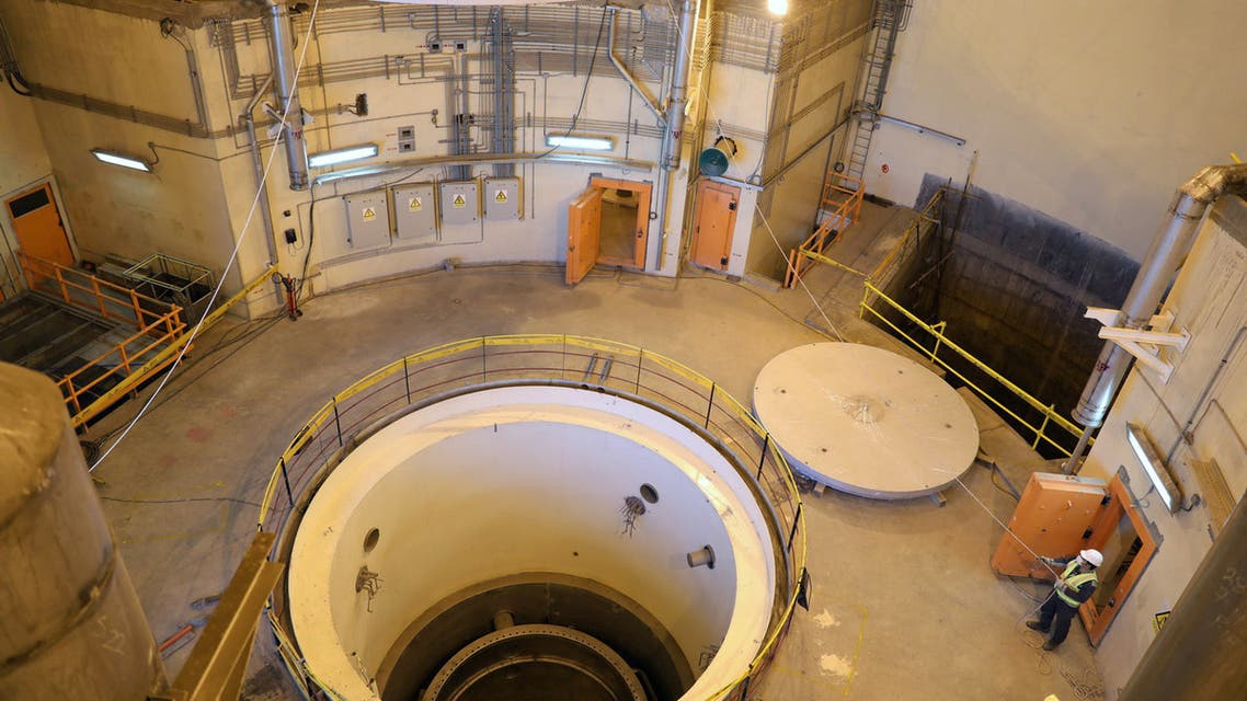A view of the water nuclear reactor at Arak, Iran December 23, 2019. WANA (West Asia News Agency) via REUTERS ATTENTION EDITORS - THIS IMAGE HAS BEEN SUPPLIED BY A THIRD PARTY