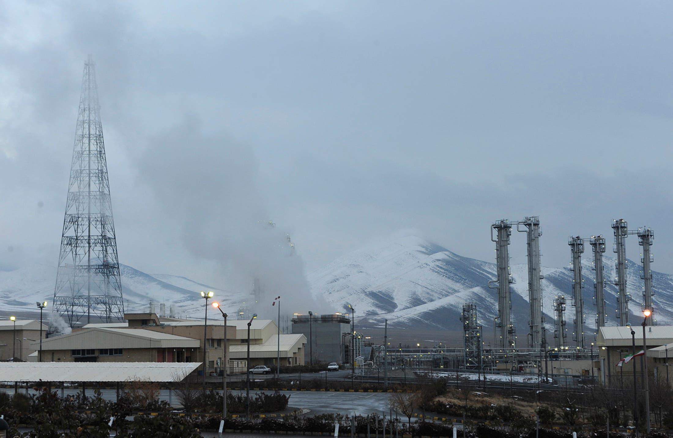 مفاعل اراك النووي في إيران (أرشيفية)