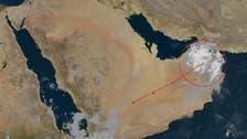"""بهذه الطريقة يصل إعصار """"شاهين"""" إلى السعودية"""