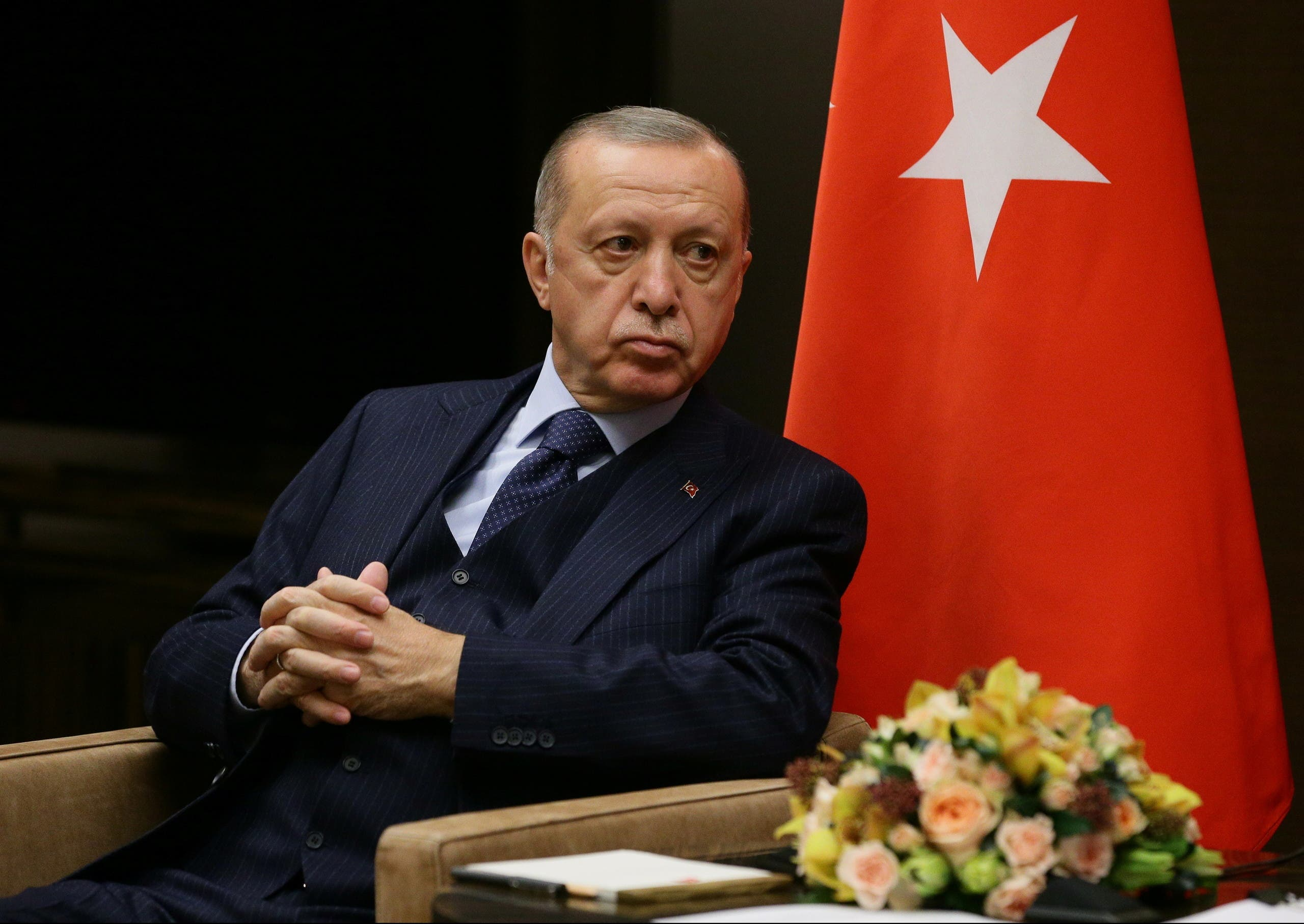 أردوغان خلال زيارة لروسيا في 29 سبتمبر الماضي