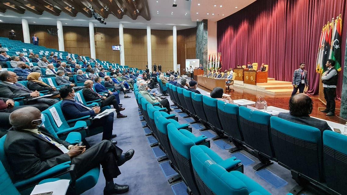 البرلمان الليبي(أرشيفية- فرانس برس)