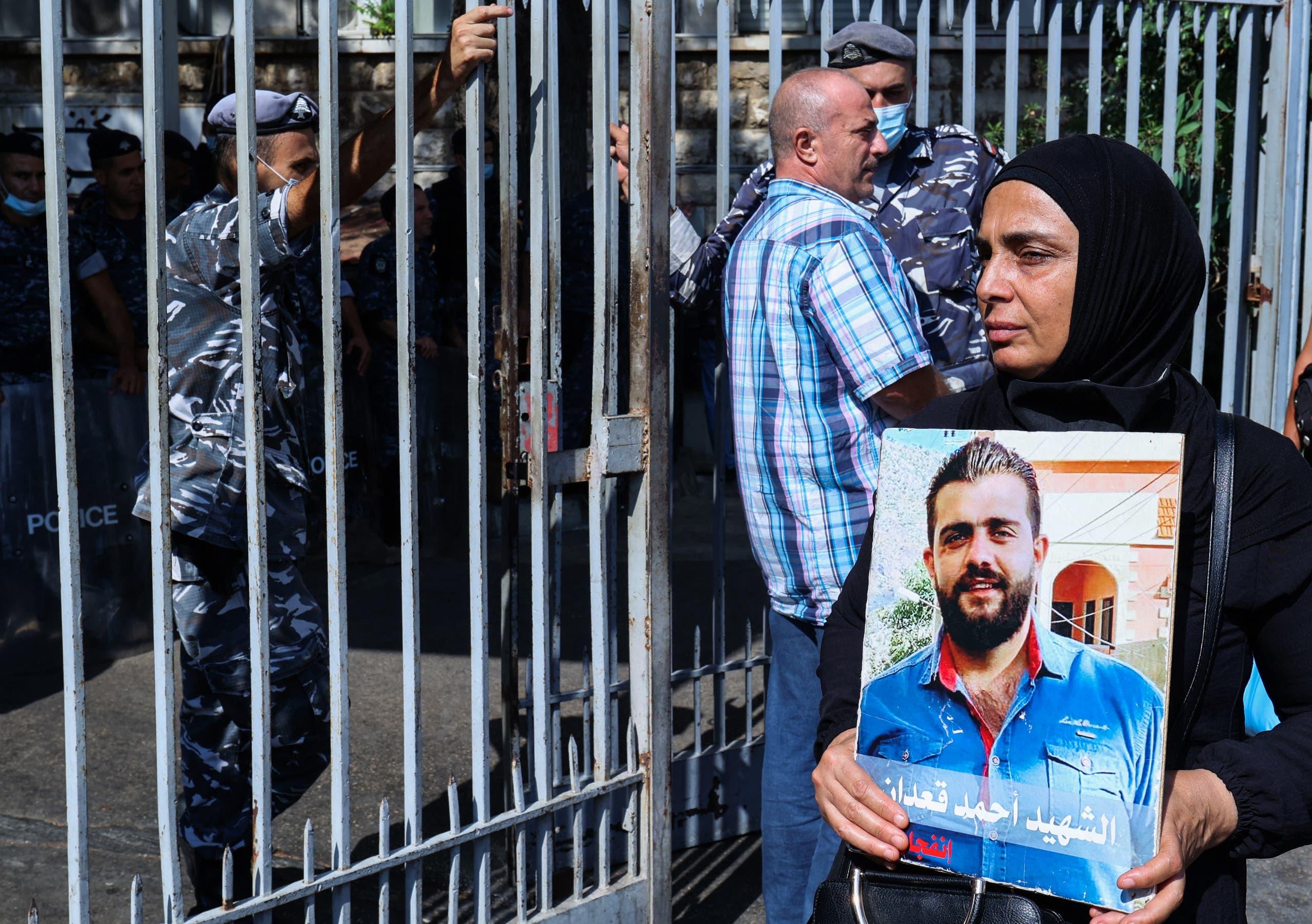 أهالي ضحايا انفجار بيروت(أرشيفية- فرانس برس)