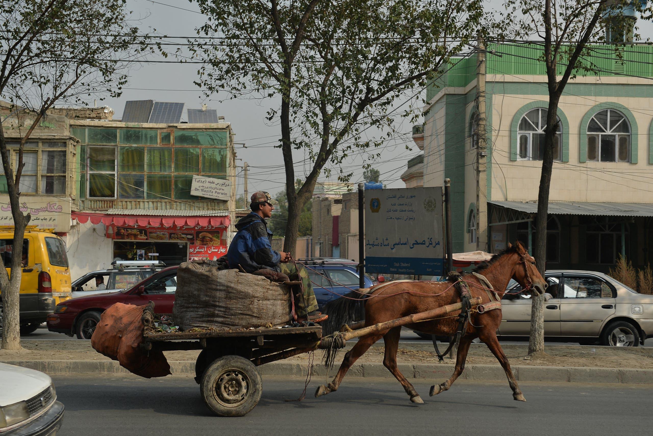 حمل و نقل سنتی در کابل