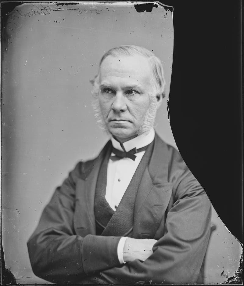 صورة للسفير البريطاني بالولايات المتحدة الأميركية السير إدوارد ثورنتون