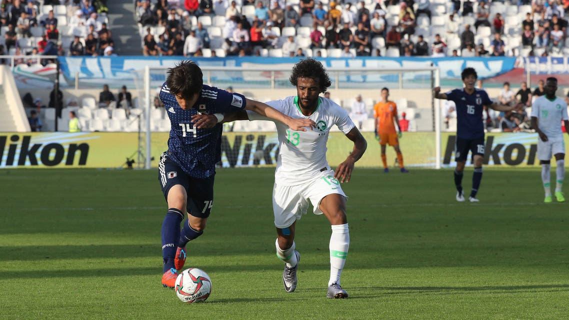 ياسر الشهراني السعودية اليابان