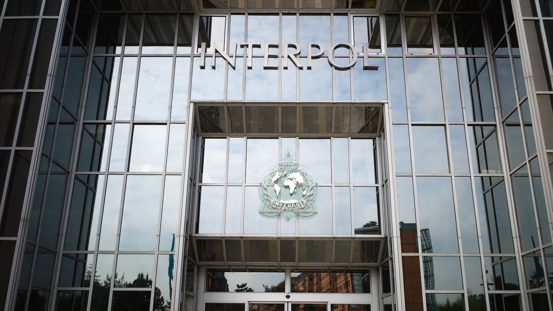 Picture taken on May 6, 2010 shows the entrance of the world largest international police organization Interpol headquarters in Lyon, eastern France. The Interpol with 188 member countries facilates cross-border police co-operation, supports and assists all organizations, authorities and services whose mission is to prevent or combat international crime. Interpol hosted the shooting of TV series Interpol wich will be broadcast on French private channel TF1 on May 20, 2010. JEAN-PHILIPPE KSIAZEK