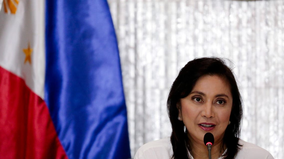 Philippines Vice President Maria Leonor Robredo speaks during a meeting with a drug war task force after President Rodrigo Duterte appointed her as its co-head, in Quezon City, Metro Manila, Philippines, November 8, 2019. (File photo: Reuters)