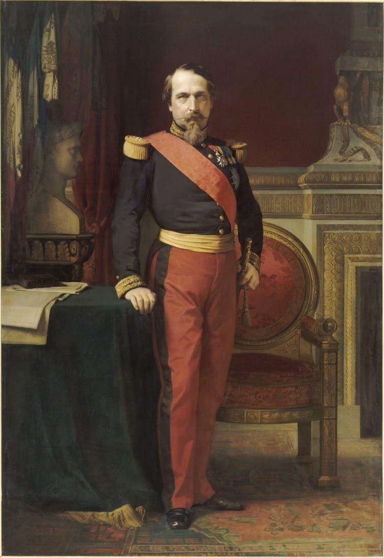 لوحة تجسد نابليون الثالث