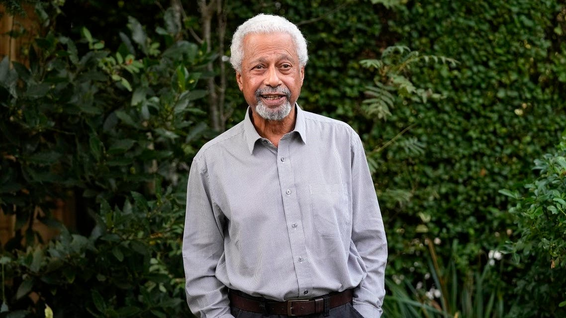 Tanzanian writer Abdulrazak Gurnah poses for a photo at his home in Canterbury, England, Oct. 7, 2021. (AP/Frank Augstein)