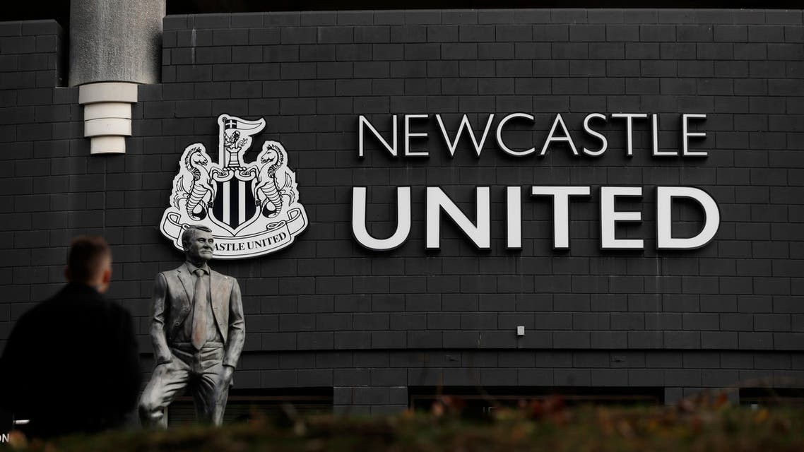 General views outside Newcastle United's St James' Park stadium ahead of a purported club takeover - St James' Park, Newcastle, Britain. (Reuters)