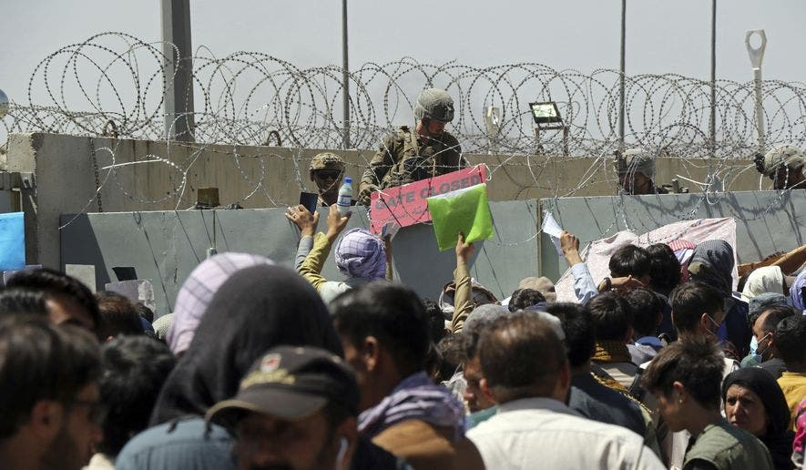 من عملية الإجلاء بأفغانستان