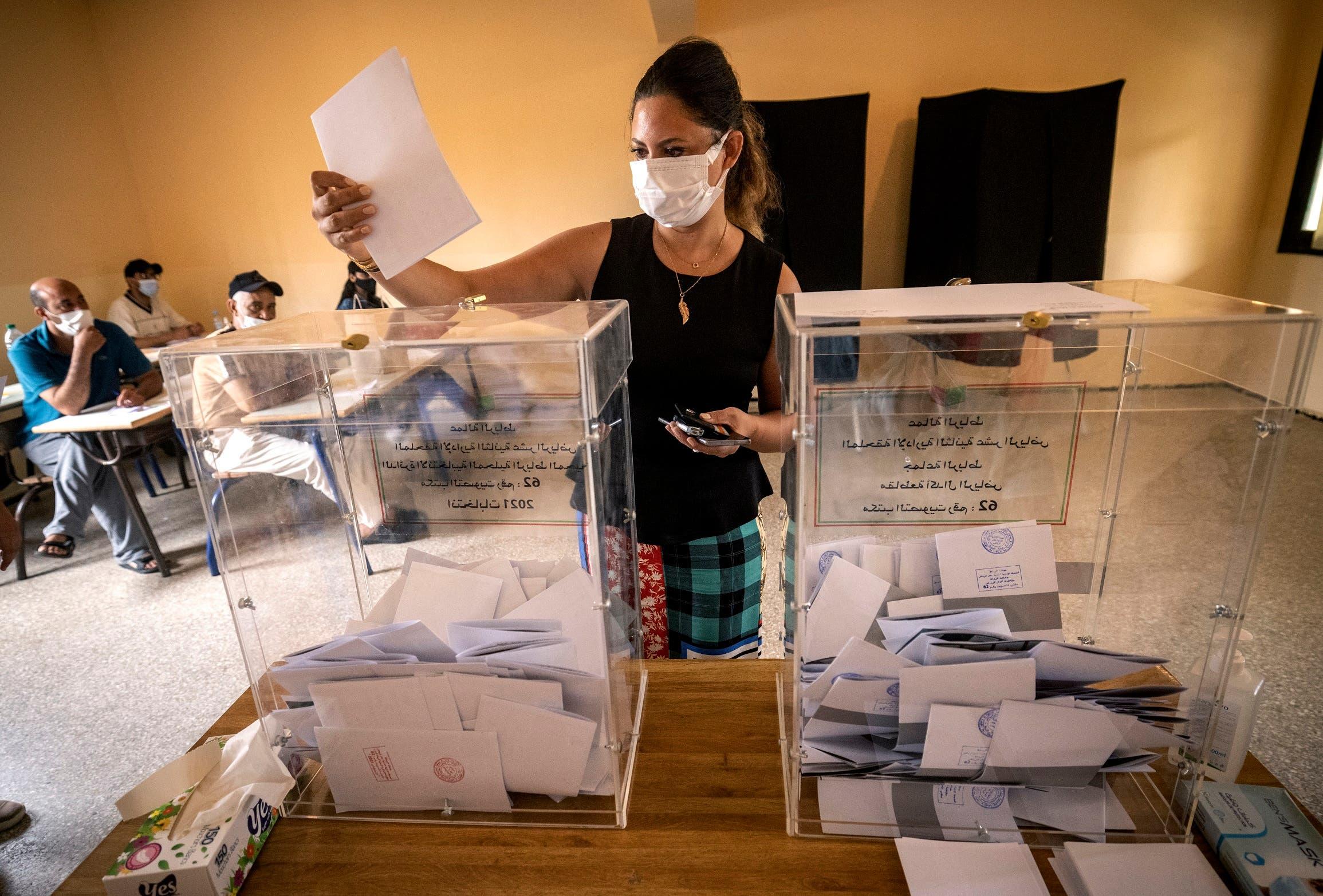 من الانتخابات التشريعية التي شهدها المغرب في 8 سبتمبر