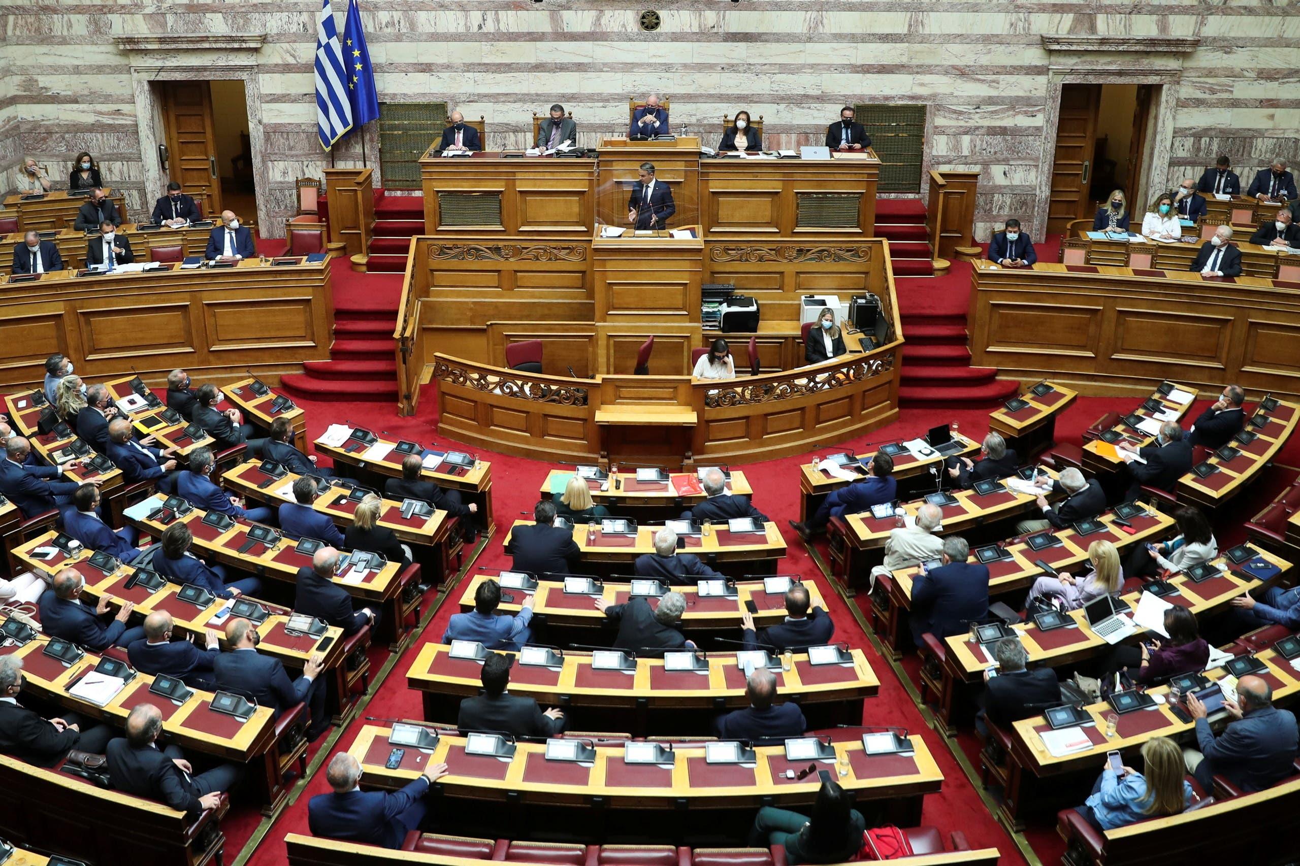 كيرياكوس ميتسوتاكيس يلقي كلمة اليوم أمام النواب قبل مصادقتهم على الاتفاقية