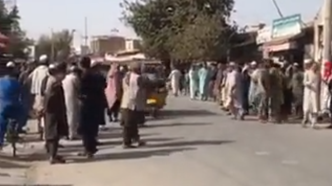 Explosion takes place in Afghan mosque, killing several people. (Screengrab)