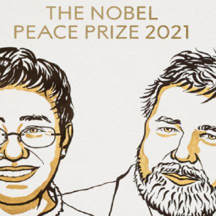 ماريا ريسا وديمتري موراتوف يحصلان على جائزة نوبل للسلام