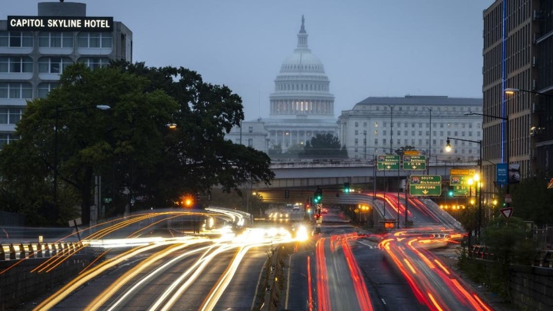 A view of the U.S. Capitol during morning rush hour on Wednesday morning October 6, 2021 in Washington, DC. (AFP)