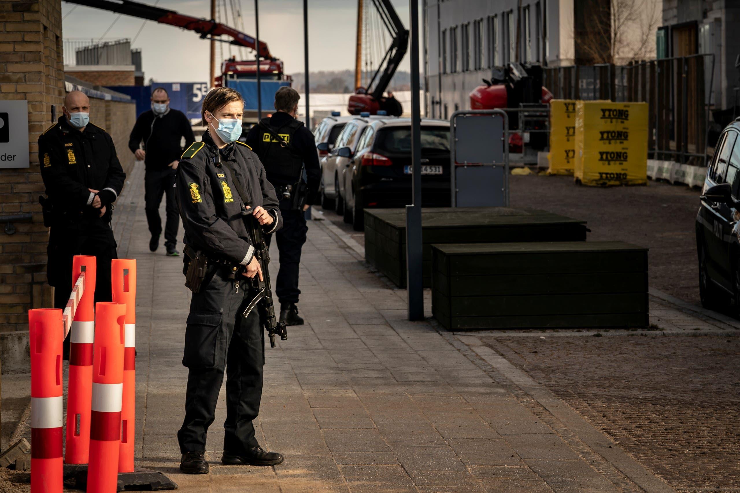 عنصار من الشرطة الدنماركية (أرشيفية)